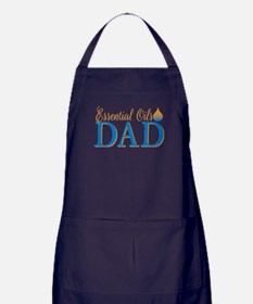 Essential oils dad Apron (dark)