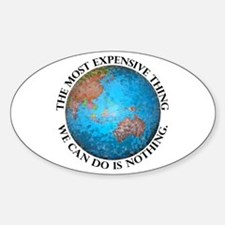 Global Cost Oval Decal