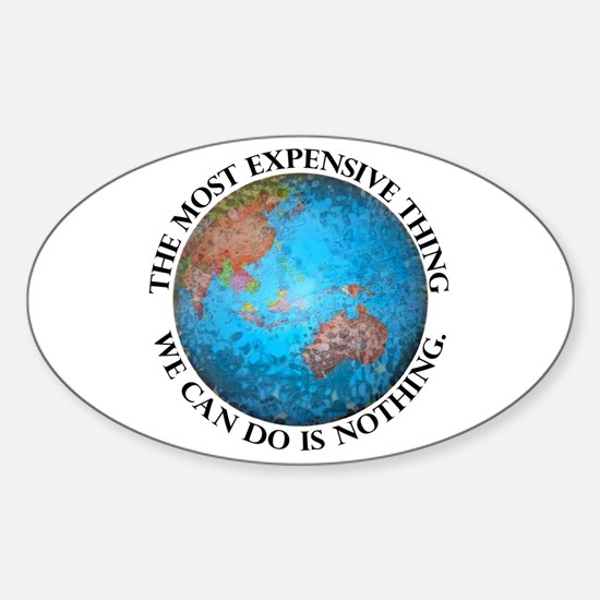 Global Cost Sticker (Oval)