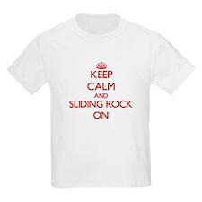 Keep calm and Sliding Rock Samoa ON T-Shirt