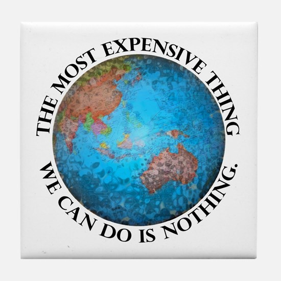 Global Cost Tile Coaster