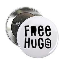 "Free Hugs 2.25"" Button"