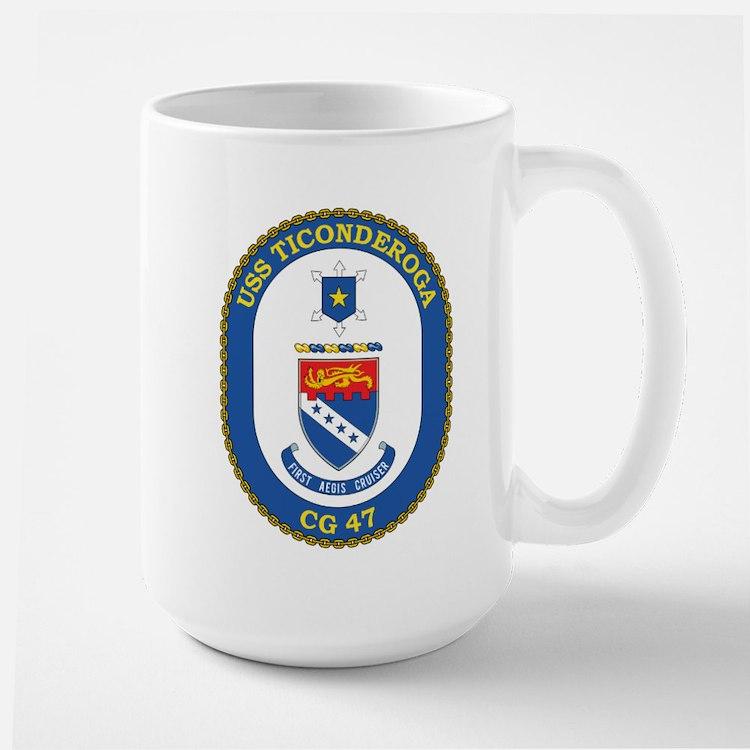 Uss Ticonderoga Cg 47 Mugs