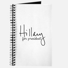 Hillary Signature President Journal