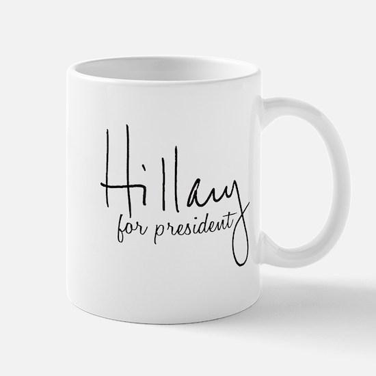 Hillary Signature President Mug