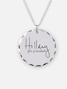 Hillary Signature President Necklace