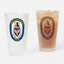 Uss Valley Forge Cg 50 Drinking Glass