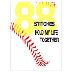 88 stitches Poster