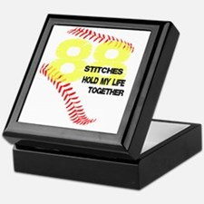 88 stitches Keepsake Box