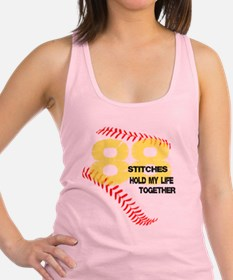 88 stitches Racerback Tank Top