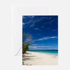 South Sea Island, Fiji Greeting Card