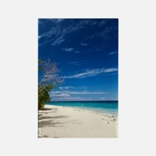 South Sea Island, Fiji Rectangle Magnet
