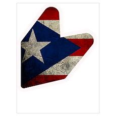 JDM puerto rico FLAG Poster