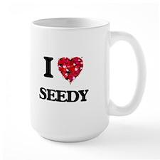 I Love Seedy Mugs