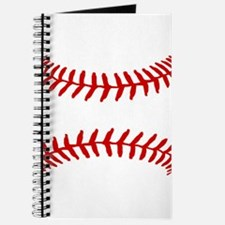 Baseball Laces Square Journal