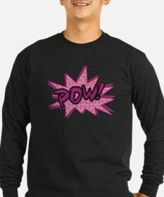 Breast Cancer Super Hero Long Sleeve T-Shirt
