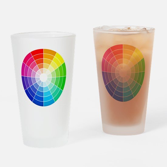color wheel Drinking Glass