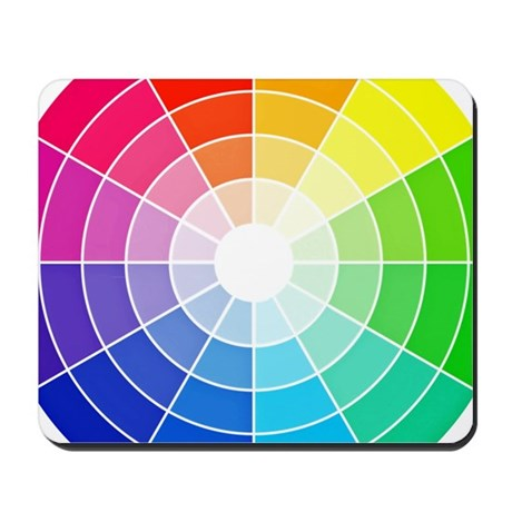 Color Wheel Mousepad By Listing Store 129519821