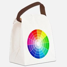 color wheel Canvas Lunch Bag