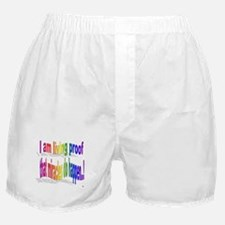 A Living Miricle Boxer Shorts