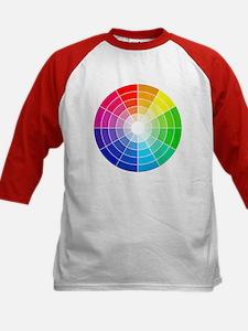 color wheel Baseball Jersey