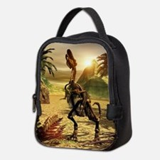 Tyrannosaurus skeleton Neoprene Lunch Bag