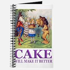 Cake Will Make It Better Journal