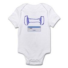 Weight Burn Infant Bodysuit