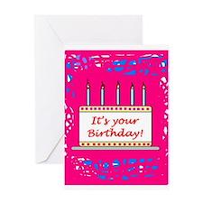 'Birthday Wishes' Greeting Card