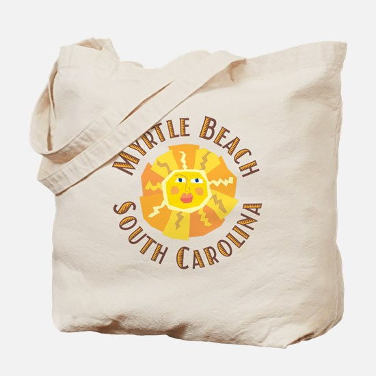 Myrtle Beach Sun - Tote or Beach Bag