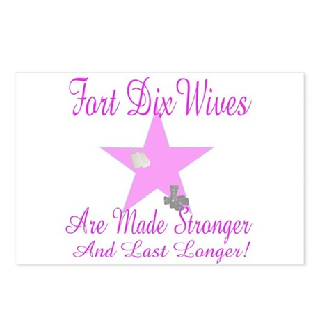 fort dix wives Postcards (Package of 8)