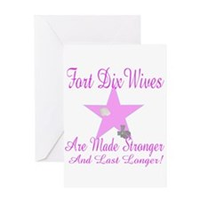fort dix wives Greeting Card