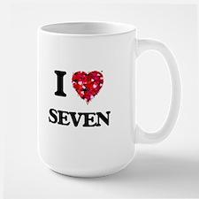 I Love Seven Mugs