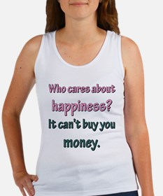 HAPPINESS CAN'T BUY MONEY Tank Top