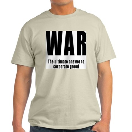 Anti-War Ash Grey T-Shirt