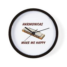 HARMONICAS Wall Clock