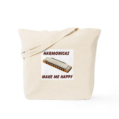 HARMONICAS Tote Bag