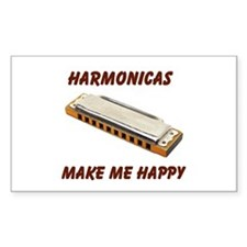 HARMONICAS Rectangle Decal