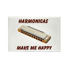 HARMONICAS Rectangle Magnet