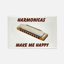 HARMONICAS Rectangle Magnet