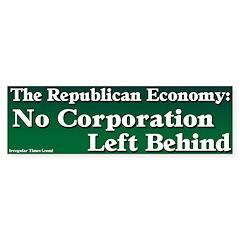 Corporate Republicans Bumper Sticker