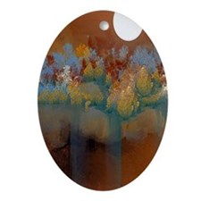 Natural Springs Oval Ornament