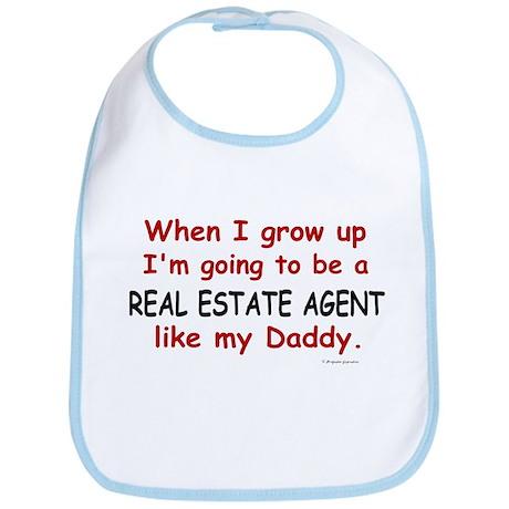 Real Estate Agent (Like My Daddy) Bib