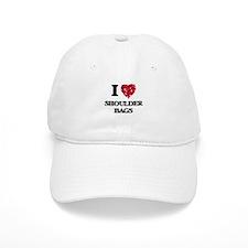 I Love Shoulder Bags Baseball Cap