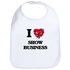 I Love Show Business Bib