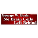 George W. Bush Bumper Sticker