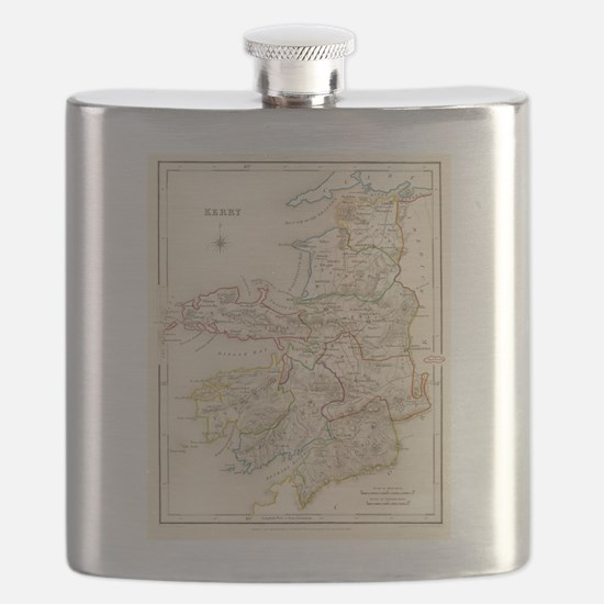 County Kerry Map - Flask