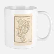 County Kildare Map - Mug Mugs