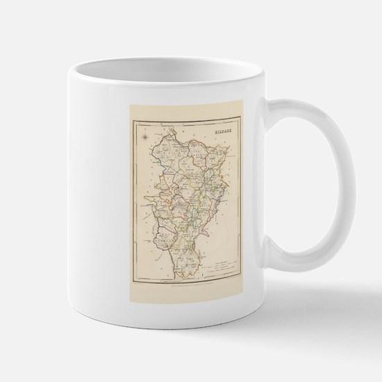 County Kildare Map - Mug Mugs