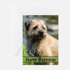 Border Terrier Dog Greeting Cards (pk Of 10)